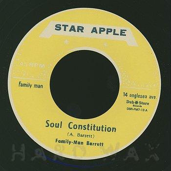 """Cover art - Aston """"Family Man"""" Barrett: Soul Constitution"""
