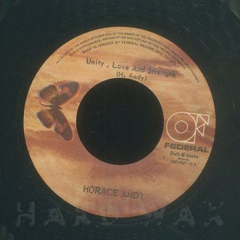 Cover art - Horace Andy: Unity, Love and Strength