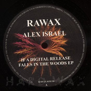 Cover art - Alex Israel: If A Digital Release Falls In The Woods EP