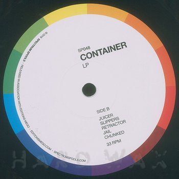 Cover art - Container: LP