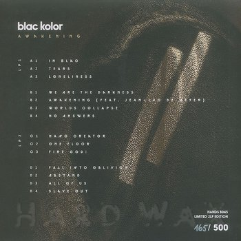 Cover art - Blac Kolor: Awakening
