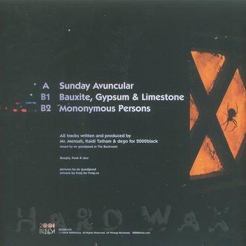 Cover art - 2000 Black: Sunday Avuncular