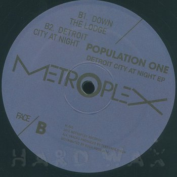Cover art - Population One: Detroit City At Night