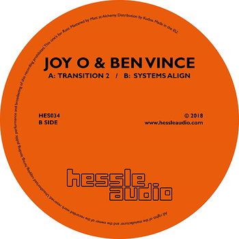Cover art - Joy O & Ben Vince: Transition 2
