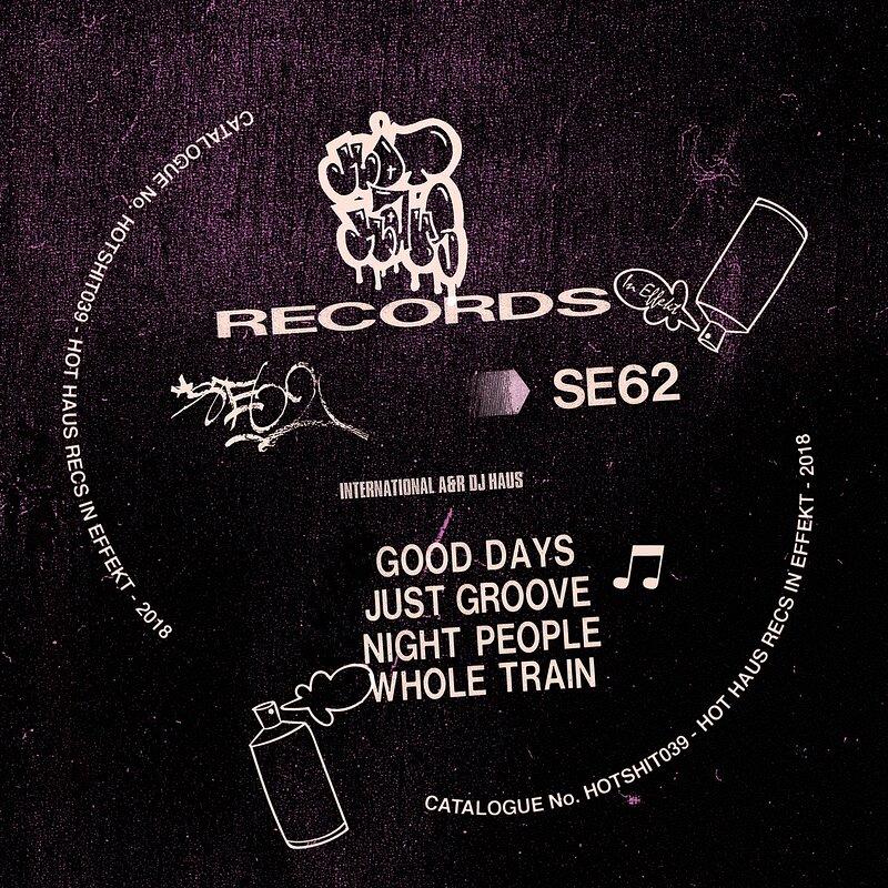 Cover art - SE62: Good Days EP