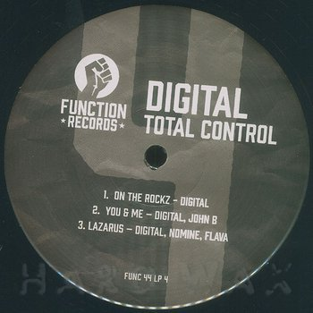 Cover art - Digital: Total Control LP Pt. 4
