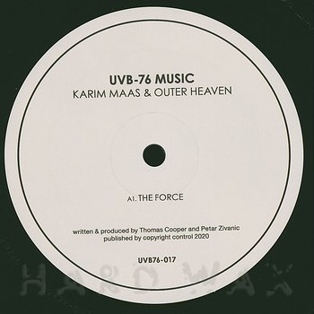 Cover art - Karim Maas: The Force