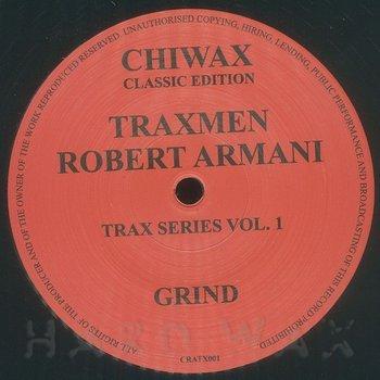 Cover art - Traxmen & Robert Armani: Grind
