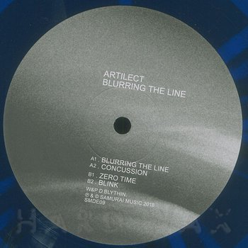 Cover art - Artilect: Blurring The Line EP