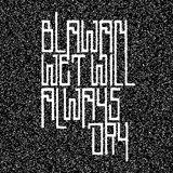 Cover art - Blawan: Wet Will Always Dry