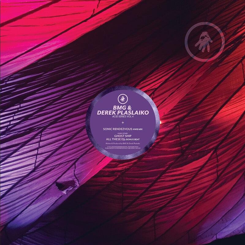 Cover art - BMG & Derek Plaslaiko: Acid Series Vol 4