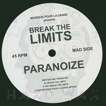 Cover art - Break The Limits: Paranoize / The Thinker