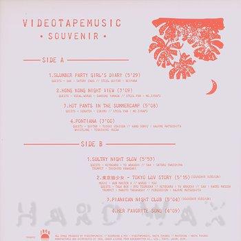 Cover art - Videotapemusic: Souvenir