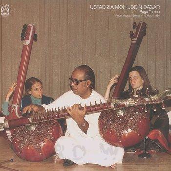 Cover art - Ustad Zia Mohiuddin Dagar: Raga Yaman (Rudra Veena // Seattle // 15 March 1986)