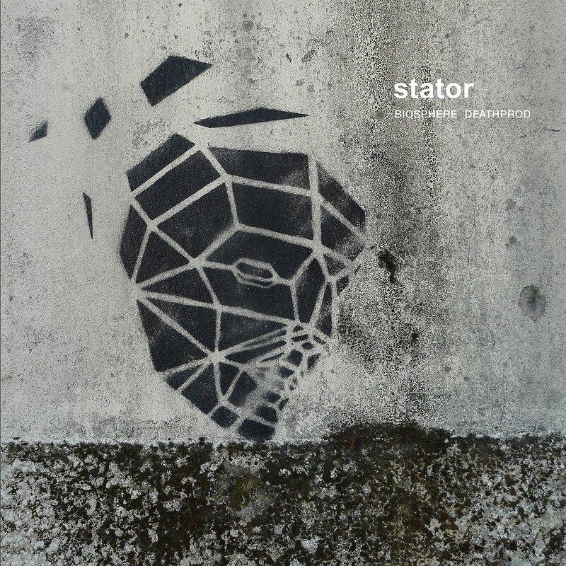 Cover art - Biosphere & Deathprod: Stator