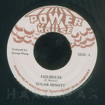 Cover art - Sugar Minott: Jailhouse