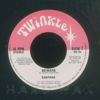 Cover art - Santana: Beware