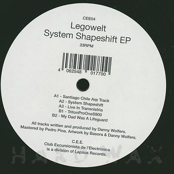 Cover art - Legowelt: System Shapeshift EP