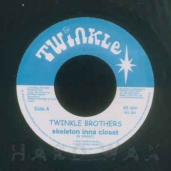 Cover art - Twinkle Brothers: Skeleton Inna Closet