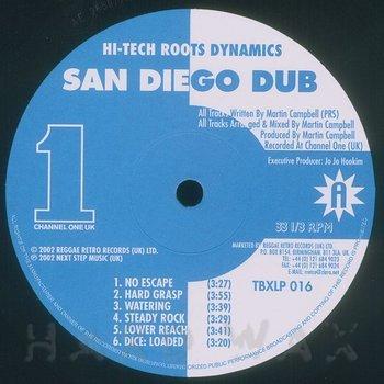 Cover art - Hi-Tech Roots Dynamics: San Diego Dub