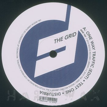 Cover art - The Grid: One Way Traffic (Blue TB7 Series)