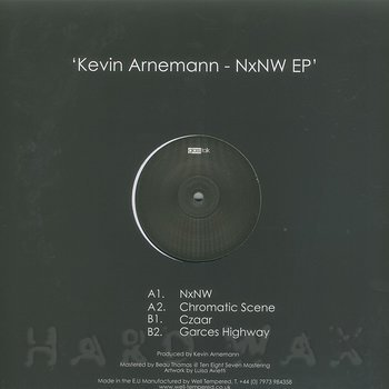 Cover art - Kevin Arnemann: NxNW