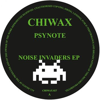 Cover art - Psynote: Noise Invaders