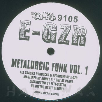 Cover art - E-Gzr: Metalurgic Funk Vol. 1