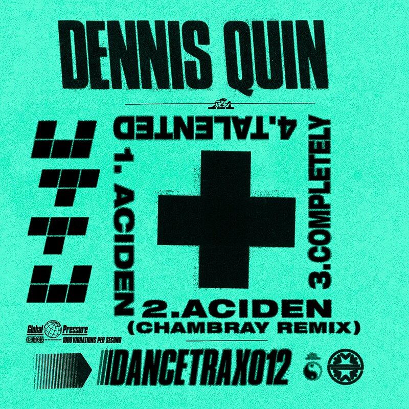 Cover art - Dennis Quin: Dance Trax Vol. 12