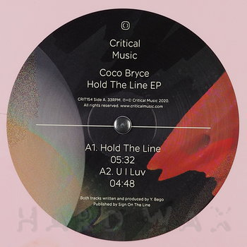 Cover art - Coco Bryce: Hold The Line EP
