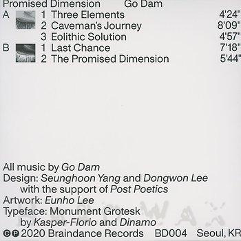 Cover art - Go Dam: Promised Dimension