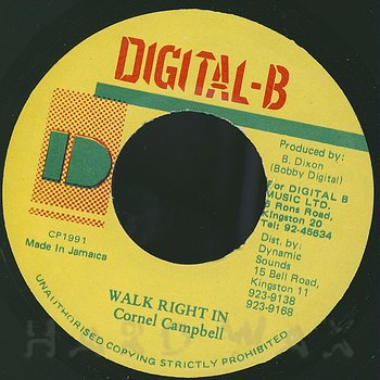 Cover art - Cornell Campbell: Walk Right In