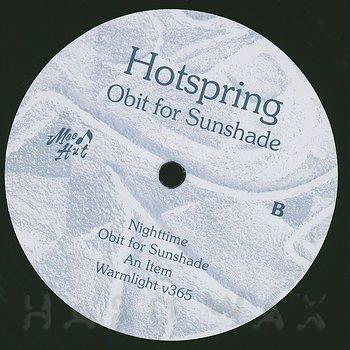 Cover art - Hotspring: Obit For Sunshade