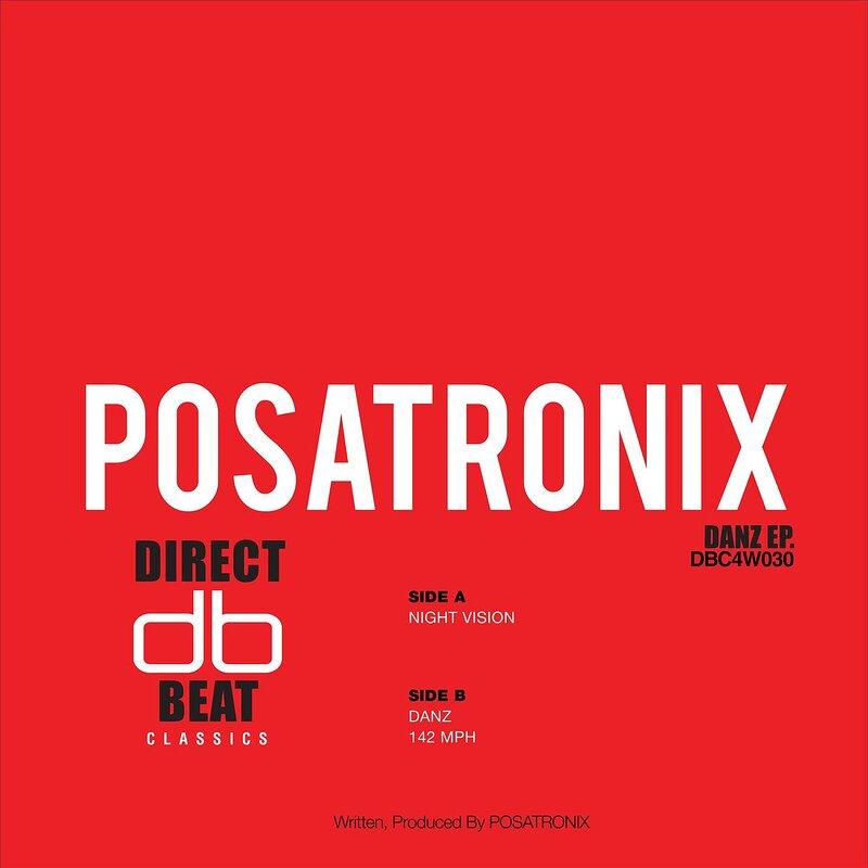 Cover art - Posatronix: Danz EP