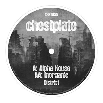 Cover art - District: Alpha House