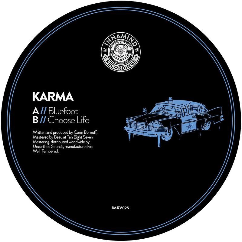 Cover art - Karma: Bluefoot / Choose Life
