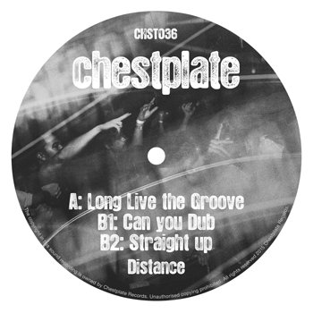 Cover art - Distance: Long Live the Groove