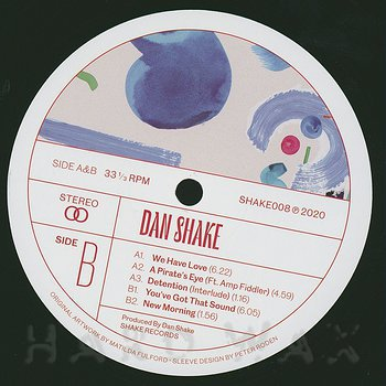 Cover art - Dan Shake: We Have Love