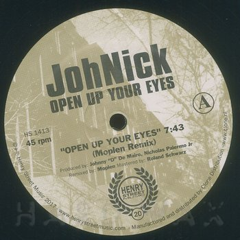 Cover art - Johnick: Open Up Your Eyes