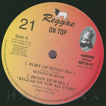 Cover art - Winston Rose: Port Of Benin