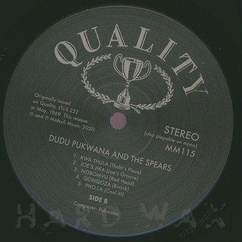 Cover art - Dudu Pukwana and the Spears: Dudu Phukwana And The Spears