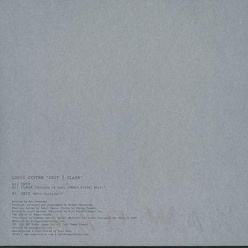 Cover art - Logic System: Unit
