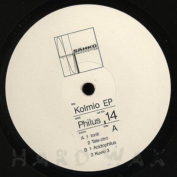 Cover art - Philus: Kolmio EP