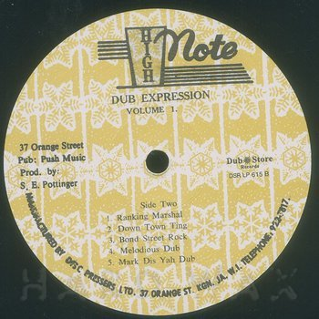 Cover art - Errol Brown & The Revolutionaries: Dub Expression