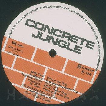 Cover art - King Tubby: Concrete Jungle Dub