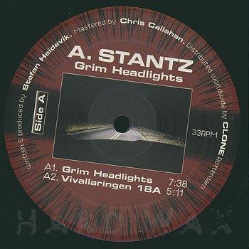 Cover art - A. Stantz: Grim Headlights