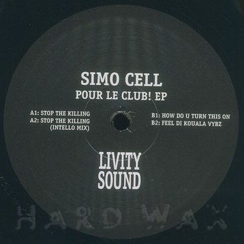 Cover art - Simo Cell: Pour Le Club! EP