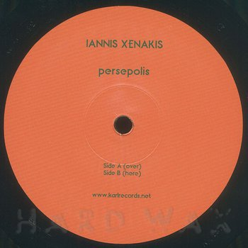 Cover art - Iannis Xenakis: Persepolis