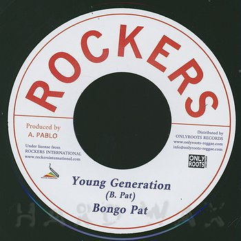 Cover art - Bongo Pat: Young Generation