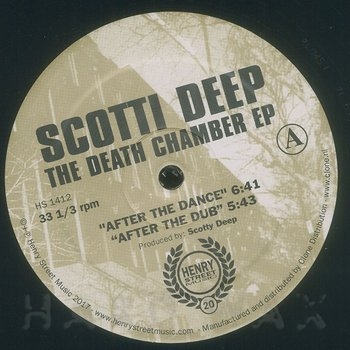 Cover art - Scotti Deep: The Death Chamber EP